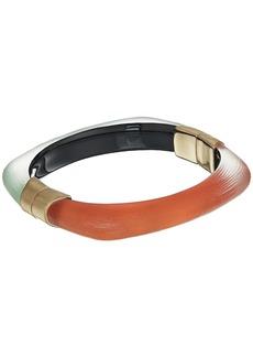 Alexis Bittar Soft Square Color Block Hinge Bracelet