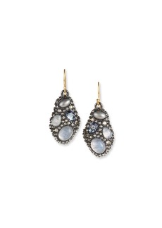 Alexis Bittar Stone Cluster Drop Wire Earrings