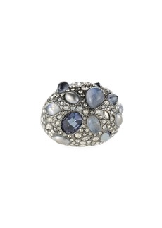 Alexis Bittar Stone Cluster Pave Cocktail Ring  Size 6