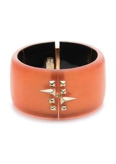 Alexis Bittar Studded Lucite® Hinge Bracelet