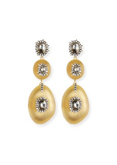 Alexis Bittar Triple Lucite® Drop Earrings