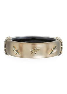 Alexis Bittar Triple Stone Stud Hinge Bracelet