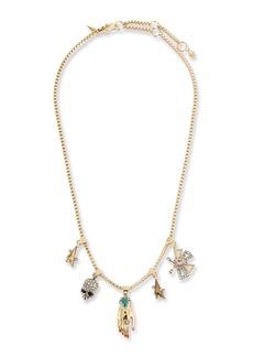 Alexis Bittar Vanitas Charm Necklace