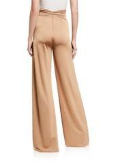 Alexis Camilo High-Rise Wide-Leg Pants