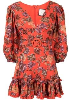 Alexis Charlize floral print dress