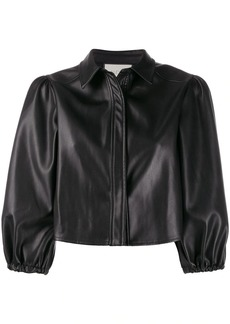 Alexis cropped puffed sleeve jacket