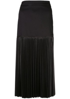 Alexis Dionne pleated midi skirt