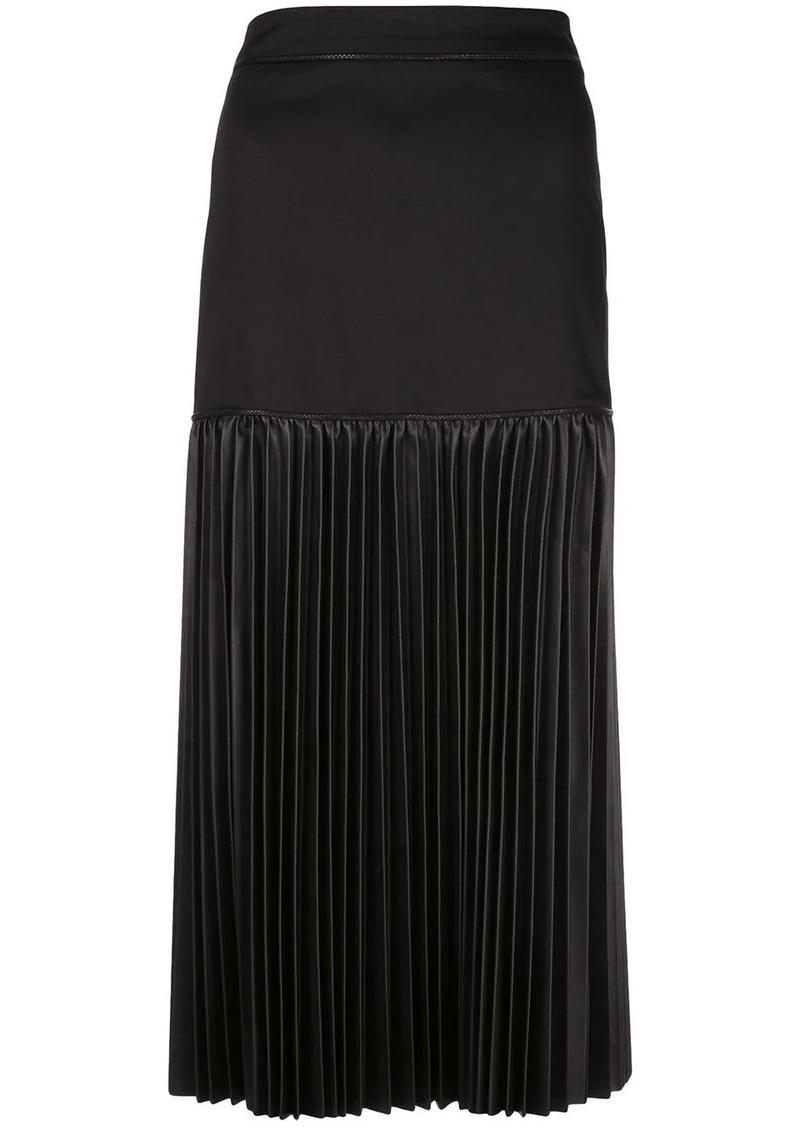 Alexis Dionne pleated midi skirt