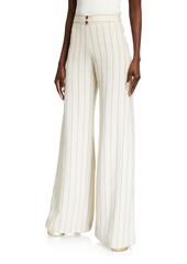 Alexis Dixon Striped Wide-Leg Pants