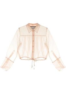 Alexis drawstring waist blouse