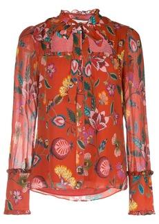 Alexis Elodie floral print shirt