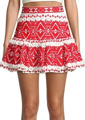 Alexis Embroidered Lucille Skirt