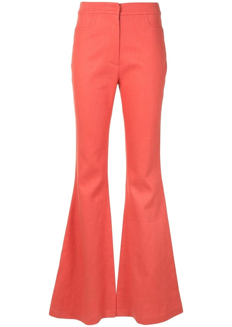 Alexis Emerson flared trousers
