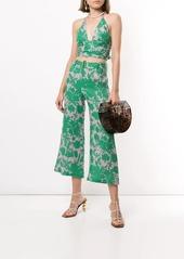 Alexis Ernest botanical print trousers