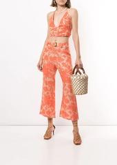 Alexis Ernest floral print trousers