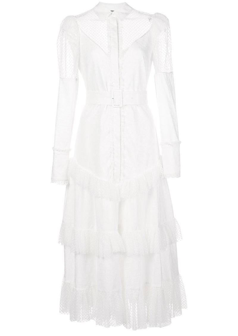 Alexis Evarra ruffled dress