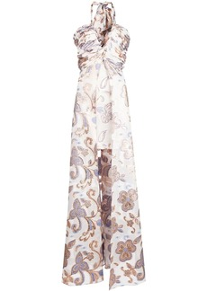Alexis Falana halter dress