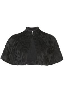 Alexis Fiah floral jacquard cape