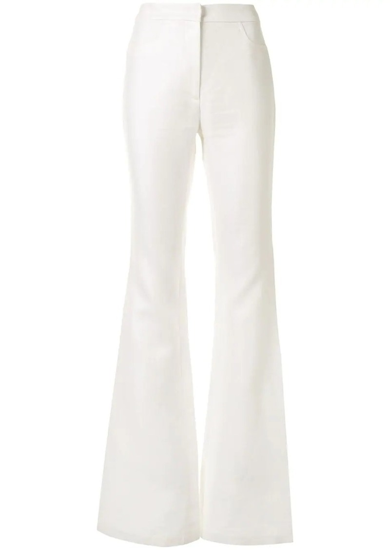 Alexis flared trousers