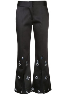Alexis floral beaded trousers