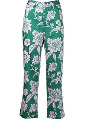 Alexis Edalene floral-print straight-leg trousers