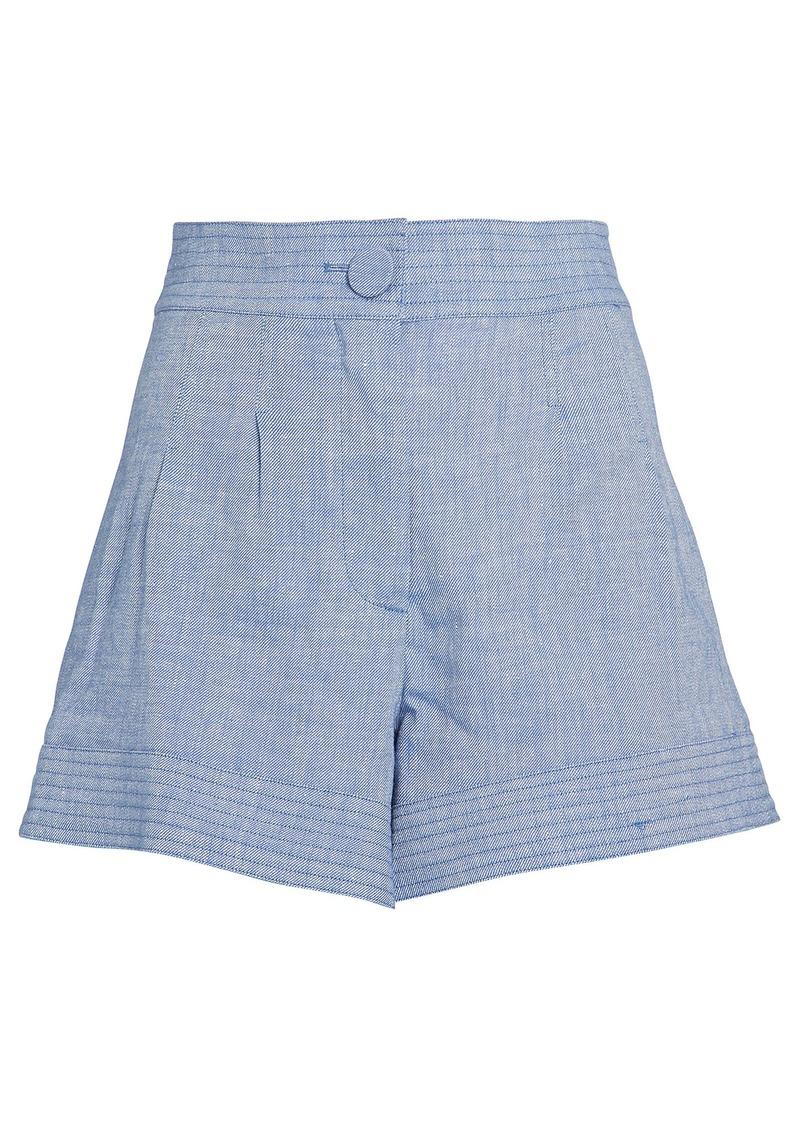 Alexis Garwen Chambray Shorts