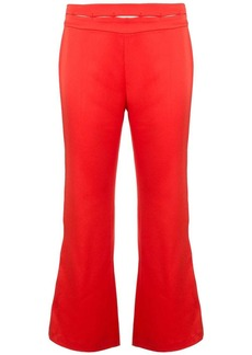 Alexis high-waist flared trousers