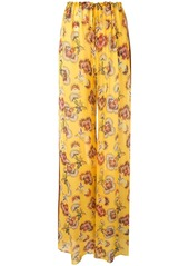 Alexis Ikdea floral trousers