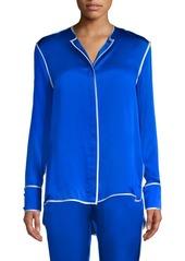 Alexis Ima Silk Pajama Shirt