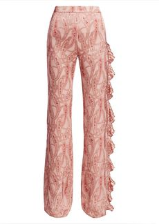 Alexis Izami Tonal Paisley Pants