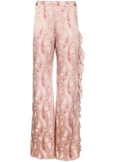 Alexis Izami wide-leg trousers