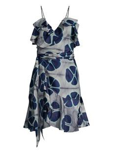 Alexis Kalani Floral Wrap Camisole Dress