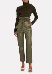 Alexis Kayden Vegan Leather Paperbag Pants