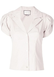 Alexis Kirstie puff shoulder shirt