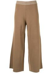 Alexis knit cropped trousers