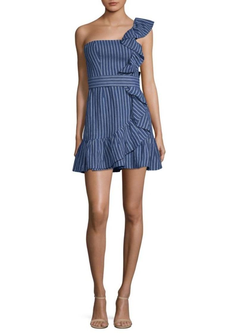 Alexis Konner Denim Striped Dress
