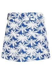 Alexis Lodi Palm Jacquard Skirt
