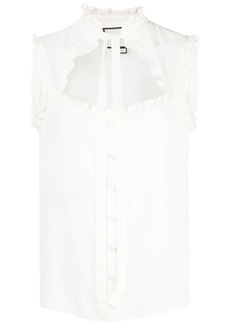 Alexis Lois ruffled top