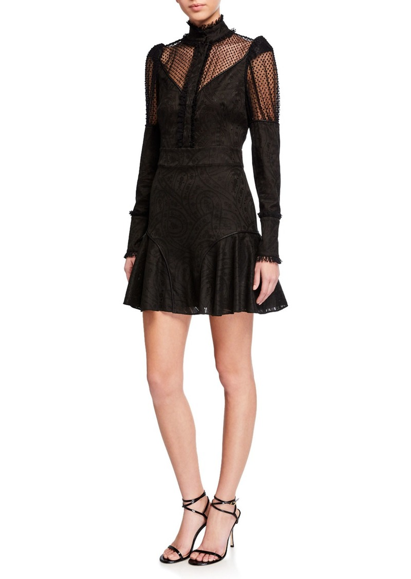 Alexis Madilyn High-Neck Short Dress