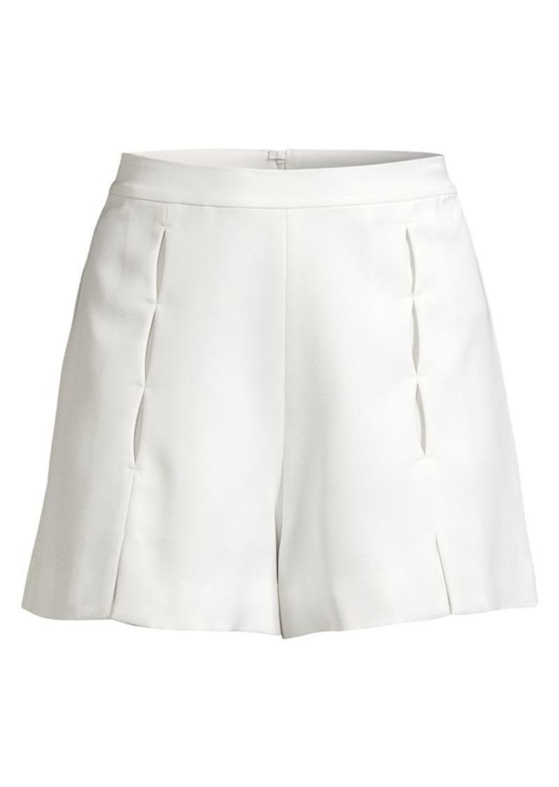 Alexis Milki Seam-Detail Shorts