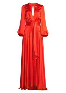 Alexis Modesta Silk Maxi Dress