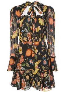 Alexis Morgana floral print dress