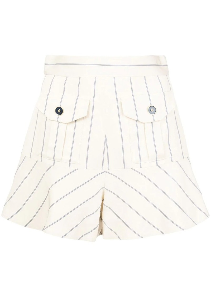 Alexis Norwood striped shorts