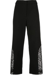 Alexis Novata sheer-panels trousers