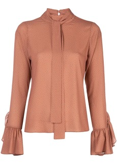 Alexis Odellia polka dot blouse
