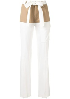Alexis Ossun belted trousers