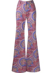 Alexis Salima paisley-print flared trousers