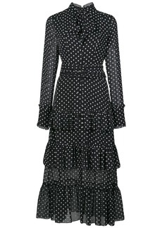 Alexis Pandora polka dot print dress