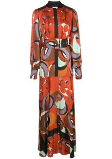 Alexis Parissa geometric print dress
