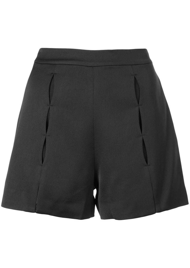 Alexis pleated short shorts
